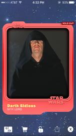 Darth Sidious - Sith Lord - Base Series 1