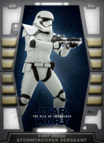 First Order Stormtrooper Sergeant - 2020 Base Series