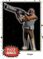 Gregor - Base Series 4 - Rebels