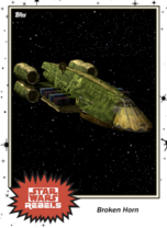 Broken Horn - Base Series 4 - Rebels