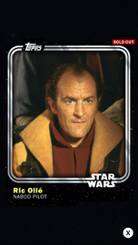 Ric Olié - Naboo Pilot - Base Series 1