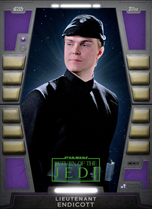Lieutenant Endicott - 2020 Base Series 2