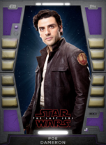 Poe Dameron (The Last Jedi) - 2020 Base Series 2