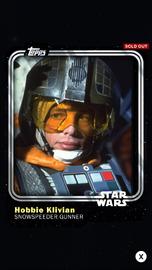 Hobbie Klivian - Snowspeeder Gunner - Base Series 1