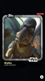 Watto - Junk Dealer - Base Series 1