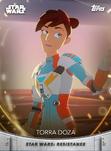 Torra Doza - Topps' Women of Star Wars
