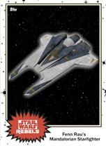 Fenn Rau's Mandalorian Fighter - Base Series 4 - Rebels