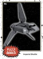 Imperial Shuttle - Base Series 4 - Rebels