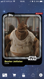 Dexter Jettster - Cook - Base Series 1