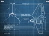 Imperial Shuttle - Blueprints