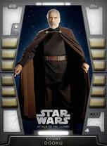 Count Dooku - 2020 Base Series