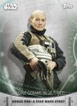 Jaldine Gerams (Blue Three) - Topps' Women of Star Wars
