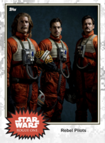 Rebel Pilots (trio) - Base Series 4