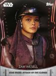 Zam Wesell - Topps' Women of Star Wars