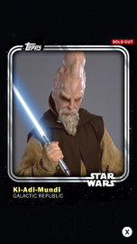 Ki-Adi-Mundi - Galactic Republic - Base Series 1