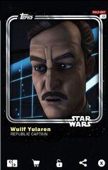 Wullf Yularen - Republic Captain - Base Series 1