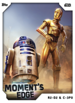 R2-D2 & C-3PO - Moment's Edge