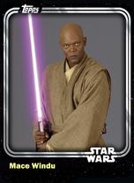 Mace Windu - Jedi Master (AOTC) - Base Series 1