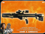 Aemon Gremm's Tosotvin Munitions JND-41 Percussive Cannon - Solo: A Star Wars Story - Gear & Gadgets
