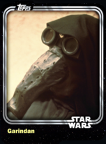 Garindan - Galactic Empire - Base Series 1