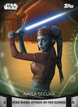 Aayla Secura - Topps' Women of Star Wars