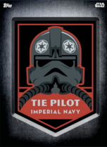 TIE Pilot - Digital Patches