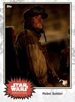 Rebel Soldier (Yavin) - Base Series 4