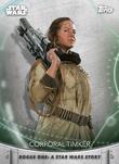 Corporal Timker - Topps' Women of Star Wars
