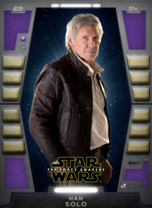 Han Solo (The Force Awakens) - 2020 Base Series 2