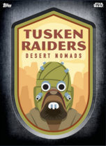 Tusken Raider - Digital Patches