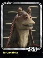 Jar Jar Binks - Galactic Senate - Base Series 1