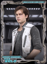 Han Solo - Solo: A Star Wars Story - Parallax - Coronet Spaceport