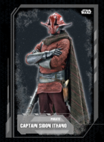 Captain Sidon Ithano - Galactic Underworld: Live-Action