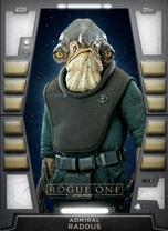 Admiral Raddus - 2020 Base Series 2