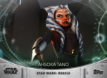 Ahsoka Tano - Topps' Women of Star Wars