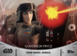 Governor Pryce - Topps' Women of Star Wars
