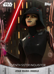 Seventh Sister Inquisitor - Topps' Women of Star Wars