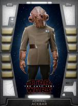 Admiral Ackbar - 2020 Base Series