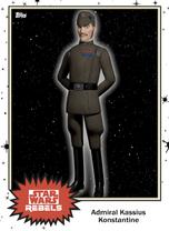 Admiral Kassius Konstantine - Base Series 4 - Rebels