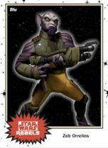 Zeb Orrelios - Base Series 4 - Rebels
