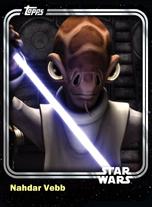 Nahdar Vebb - Jedi Padawan - Base Series 1
