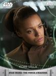 Korr Sella - Topps' Women of Star Wars
