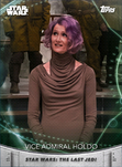 Vice Admiral Holdo - Topps' Women of Star Wars