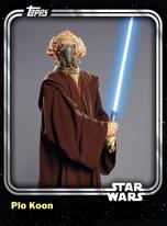 Plo Koon - Jedi Master - Base Series 1
