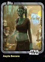 Aayla Secura - Jedi Knight - Base Series 1