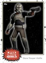 Clone Trooper Wolffe - Base Series 4 - Rebels