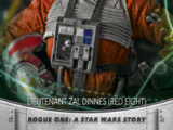 Lieutenant Zal Dinnes (Red Eight) - Topps' Women of Star Wars