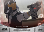 Agent Tierny - Topps' Women of Star Wars