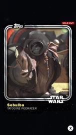 Sebulba - Tatooine Podracer - Base Series 1