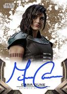 GinaCaranoAsCaraDune-TheMandalorianS1-Signature-front